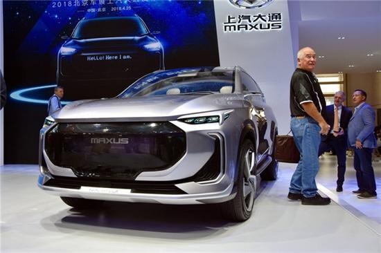 大通于2019年内投产新能源汽车 或为SUV车型
