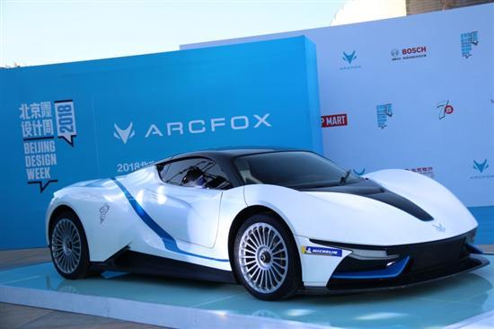 ARCFOX将参加日内瓦车展 并亮相2代ARCFOX-7