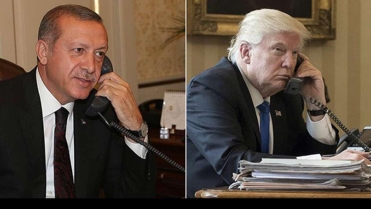特朗普决定撤军叙利亚,居然是因为与他的一通电话?