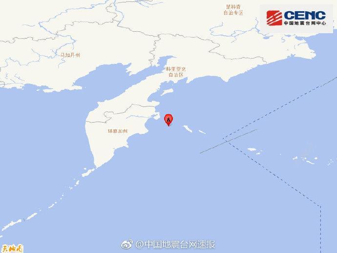 科曼众尔群岛地区发生6.1级地震 震源深度10千米