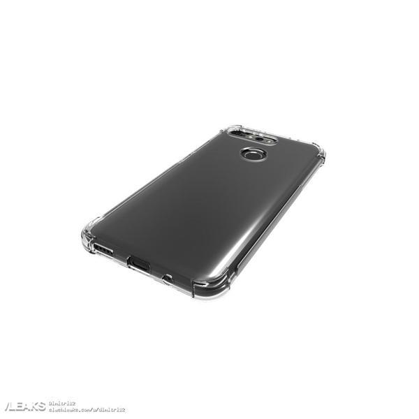 荣耀V20带壳渲染图曝光:正面屏下摄像头、背部双摄造型别致