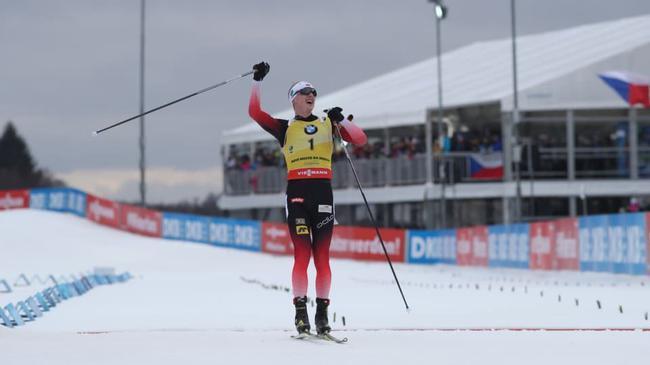 冬季两项世界杯诺韦梅斯托站 鲍伊揽男子三项冠军
