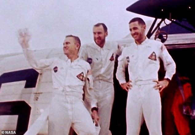 """阿波罗8号宇航员称人类登陆火星计划""""愚蠢"""""""