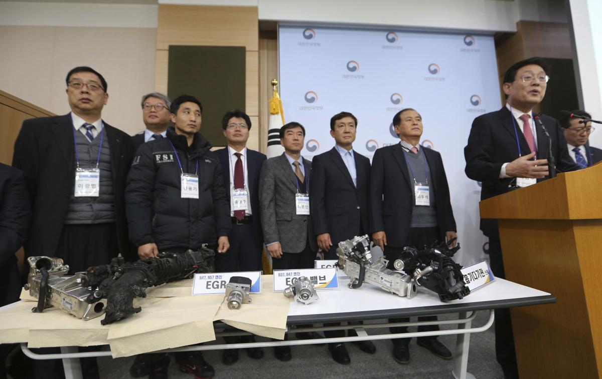 韩国指控宝马隐瞒引擎缺陷 罚款近990万美元
