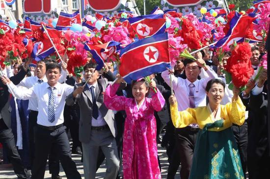 △朝鲜国庆活动