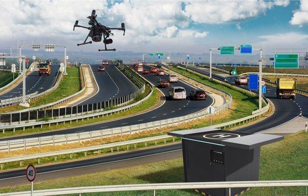 撙节80%成本,复亚助力高速公路实现无人机自动巡逻巡检