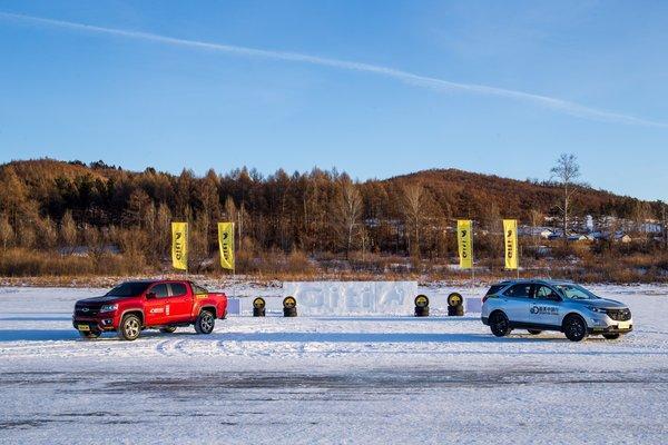 佳通轮胎助力雪佛兰冰雪体验营