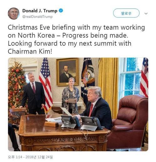 """有转机?特朗普听涉朝报告称""""期待再会金正恩"""""""