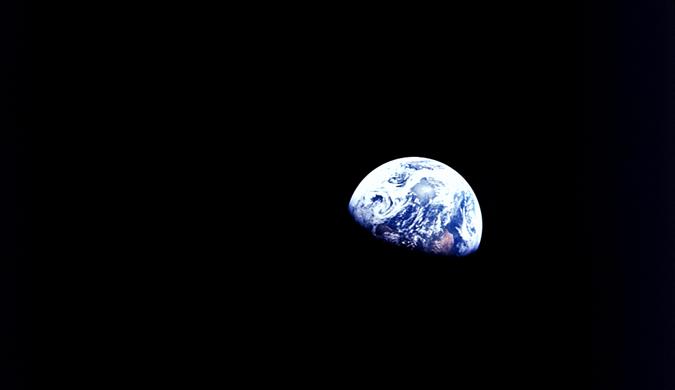 50年前 人类首次在太空度过圣诞节