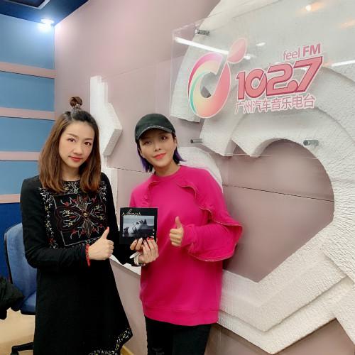 崔子格新专辑《装睡的人》广东宣传 苦练三年粤语发音惊艳众人