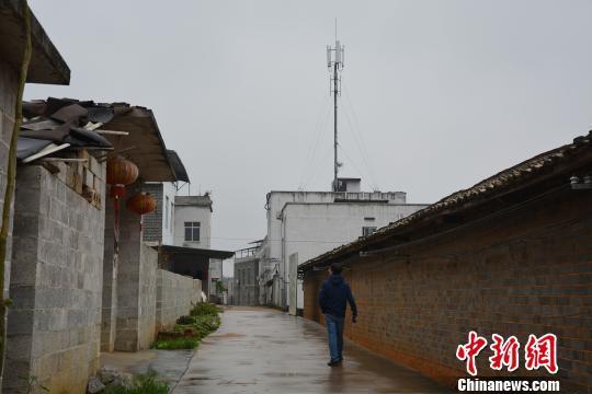 广西横县一村庄反对基站建设 因选址影响风水