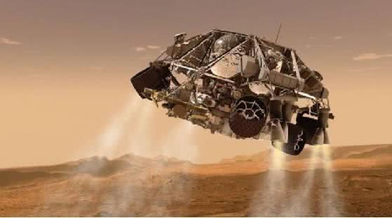 俄罗斯模拟火星车着陆舱高超音速降落过程