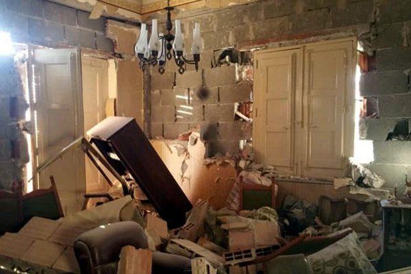 意大利西西里岛发生4.8级地震 房屋出现裂缝和倒塌