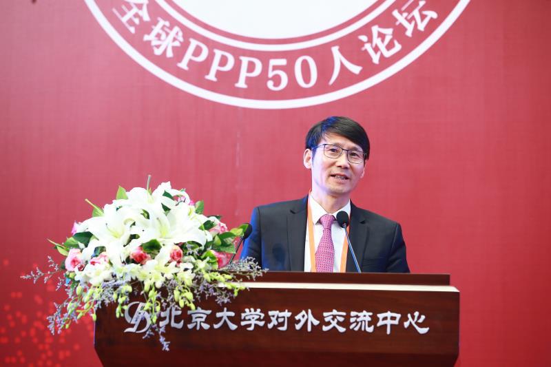 中国水环境集团董事长侯锋:PPP助力绿水青山