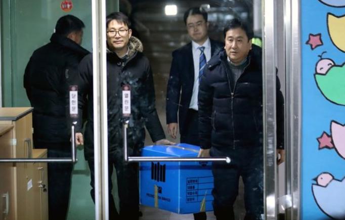 细节曝光!青瓦台遭韩检方搜查 反应与朴槿惠一致