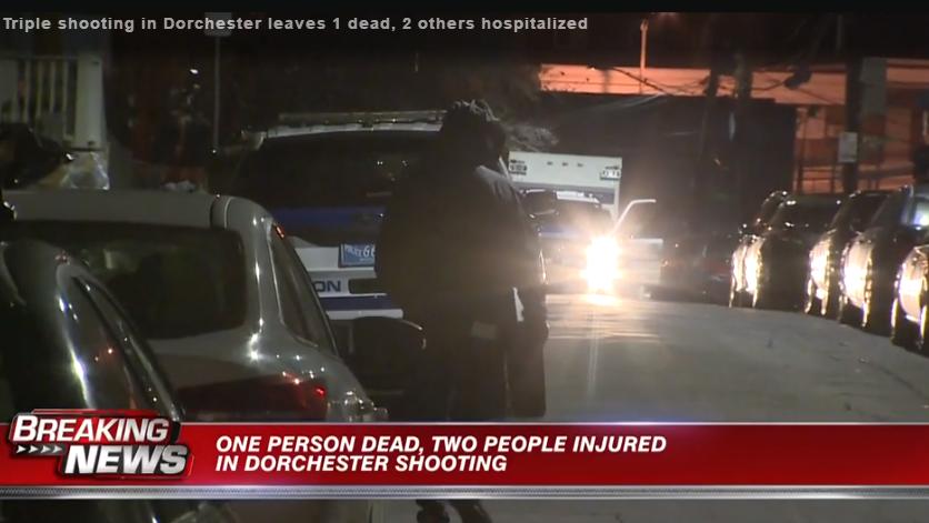美国波士顿发生枪击案 致1死2伤