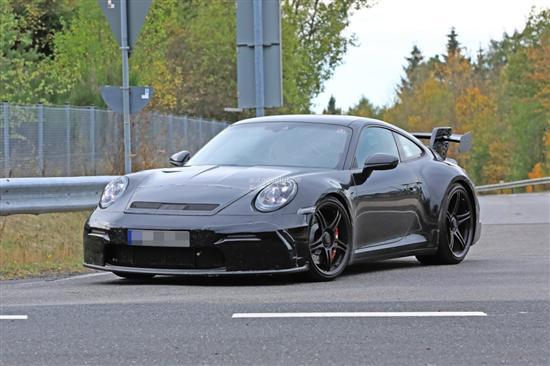 2020款保时捷911 GT3谍照曝光 明年亮相