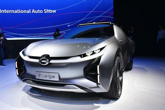 传祺全新ENTRANZE概念车或将亮相北美车展