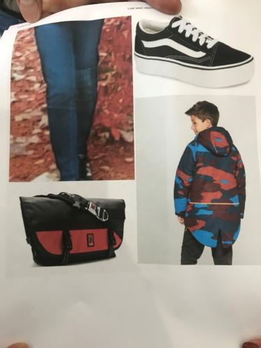 就读UIC的18岁女大生亚曼德,失踪当天穿着的衣物。(特派员黄惠玲/翻摄)