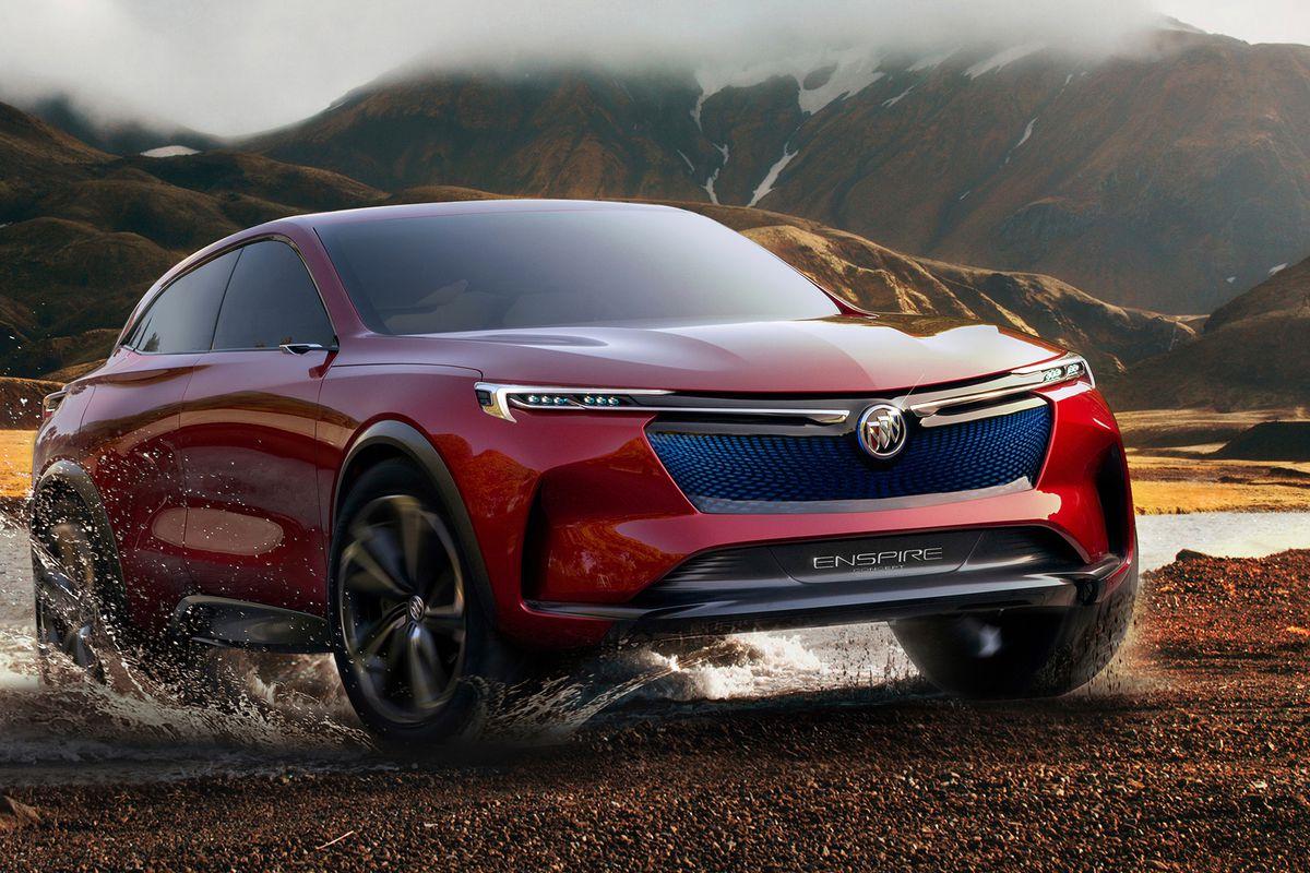 通用申请Enspire商标 或投产别克Enspire概念车