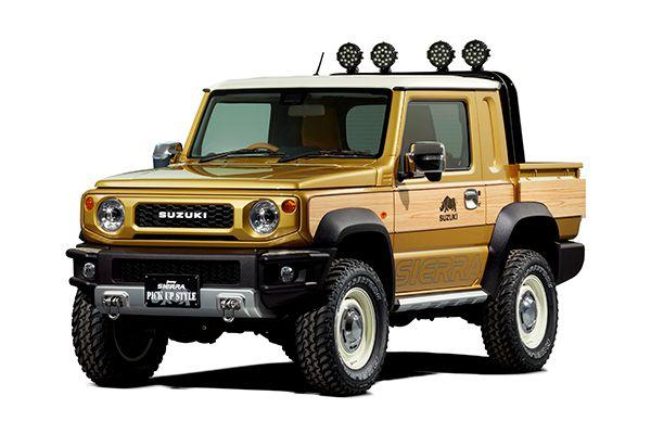 铃木推出吉姆尼概念皮卡 1月亮相东京改装车展