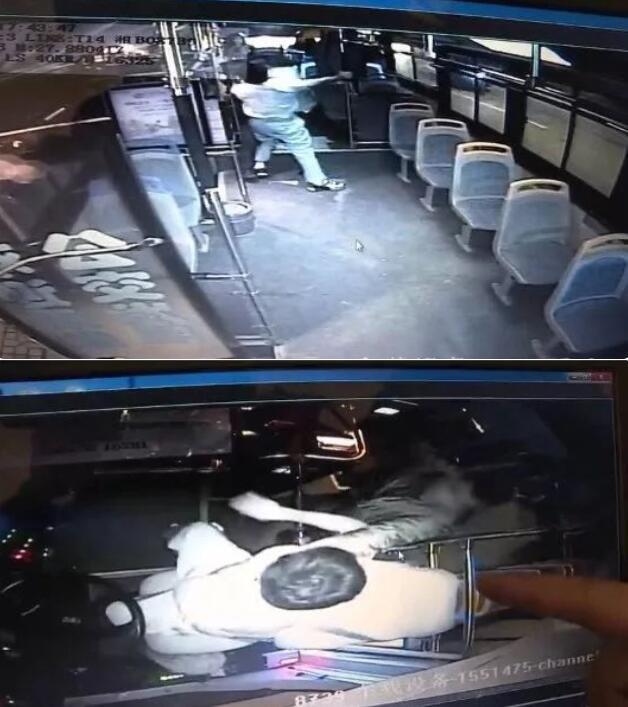 公交司机劝阻乘客吸烟被暴捶勒脖 致急性应激障碍
