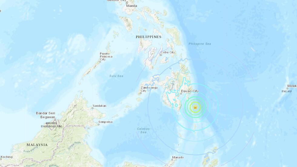 菲律宾海啸预警!印尼、帕劳可能受影响