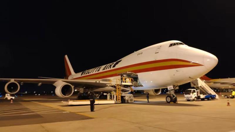 青岛机场开通首条至美国东部地区的货运洲际航线