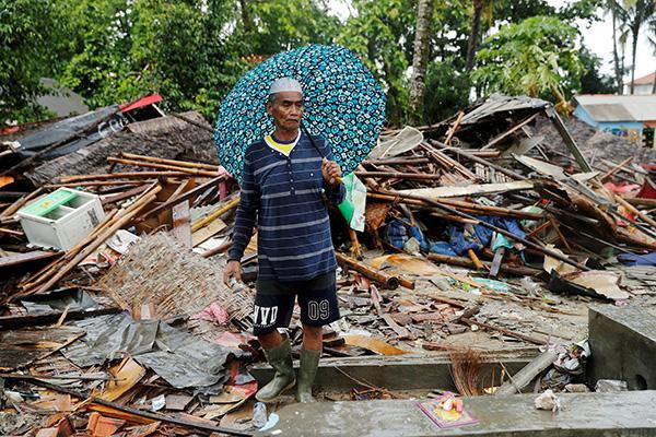 印尼国家减灾局:今年至少4231人在自然灾害中死亡或失踪