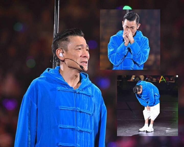 嗓子发炎无法再唱,刘德华演唱会中途宣布取消!