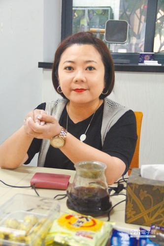 福建泰可文化创意有限公司总经理曾芝仪。台湾《中国时报》记者李锌铜摄