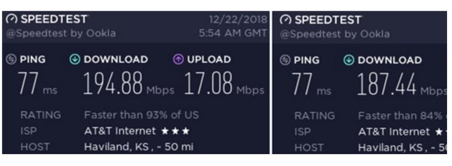 美国用户5G网络试用:比起4G LTE-A下载速度提升不大