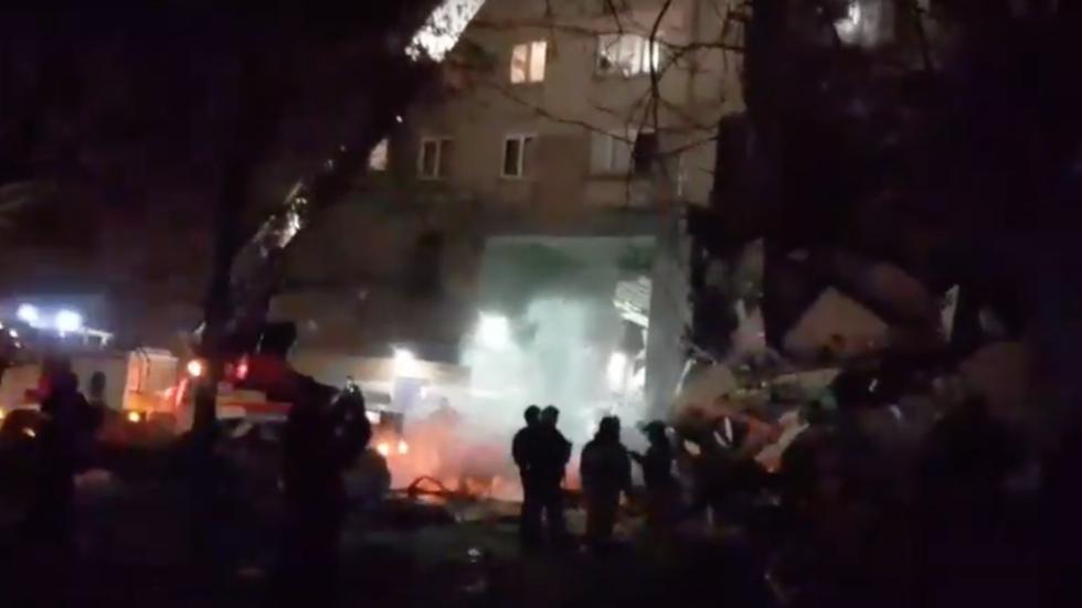 突发!俄发生天然气爆炸事故:居民住宅被摧毁 至少3死79失踪