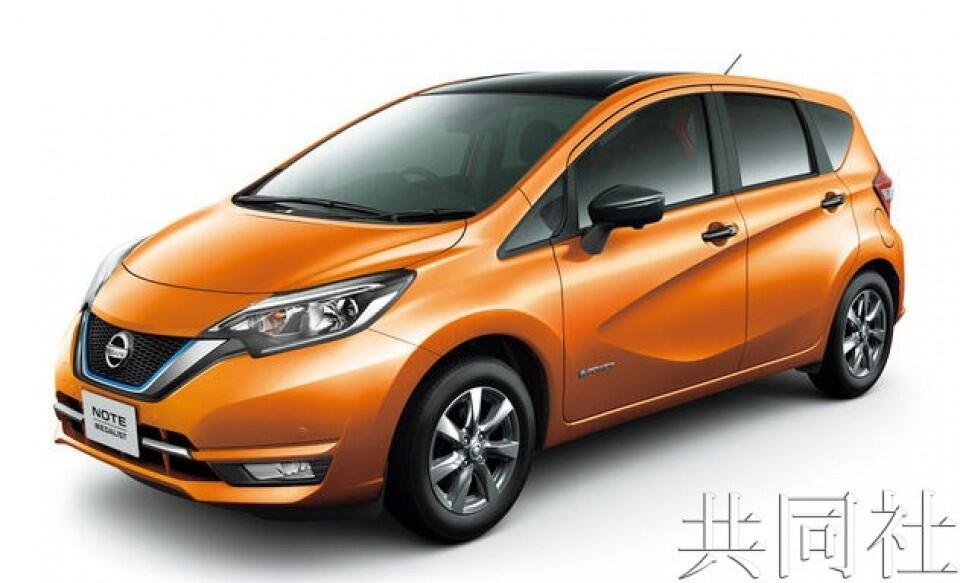 """日产""""NOTE""""或位居2018年日本国内新车注册车辆销量榜首"""
