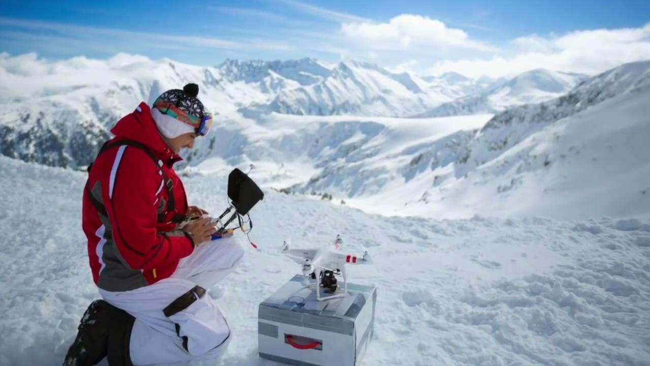 无人机航拍雪景是否安全?业内:断电坠落风险更大