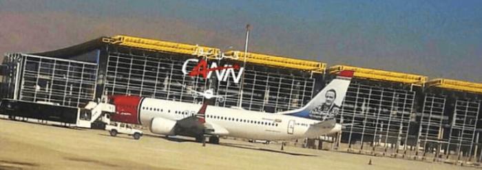 挪威航空迫降客机仍停留伊朗 飞机抢修困难重重