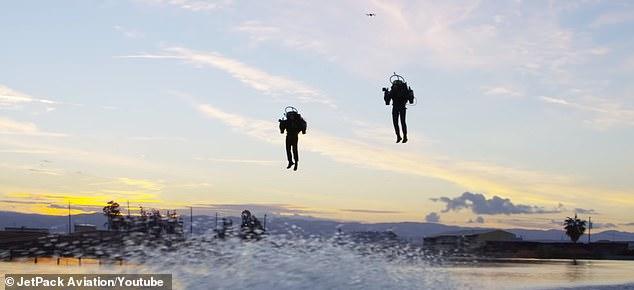 全球首届喷气背包飞行联赛有望2019年举行