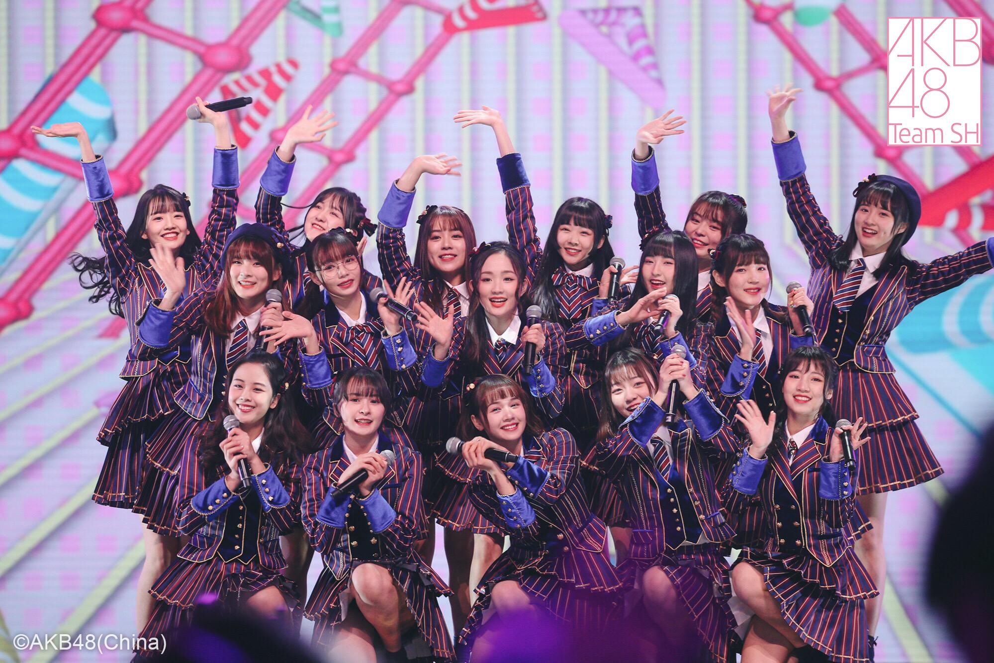 AKB48TeamSH东方卫视跨年披露新歌,零点奏响初日之声