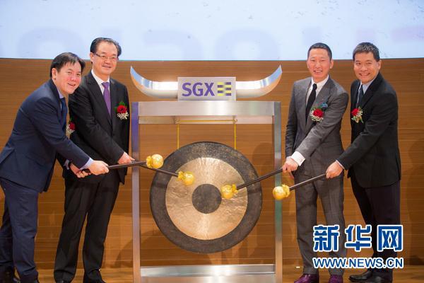 中新互联互通项目取得新突破 砂之船房地产投资信托在新加坡交易所上市