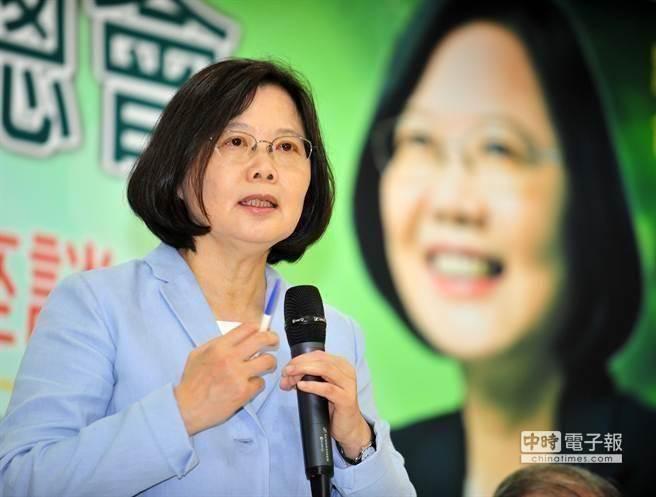 台媒:蔡英文短时间内民调爬升20% 网友回应