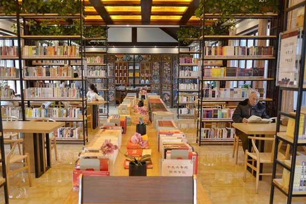 河南洛阳:城市书房让城市充满书香