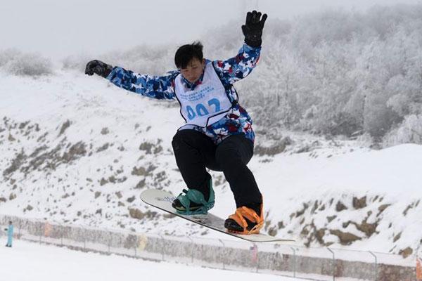 湖北五峰:雪场乐无穷