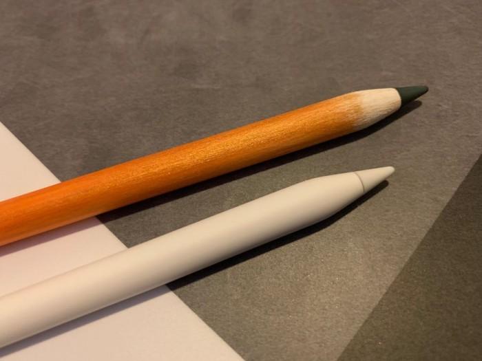 """苹果Apple Pencil被达人改造成一只""""铅笔"""""""