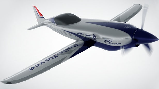 世界最快电动飞机2020年试飞 能从伦敦直飞巴黎