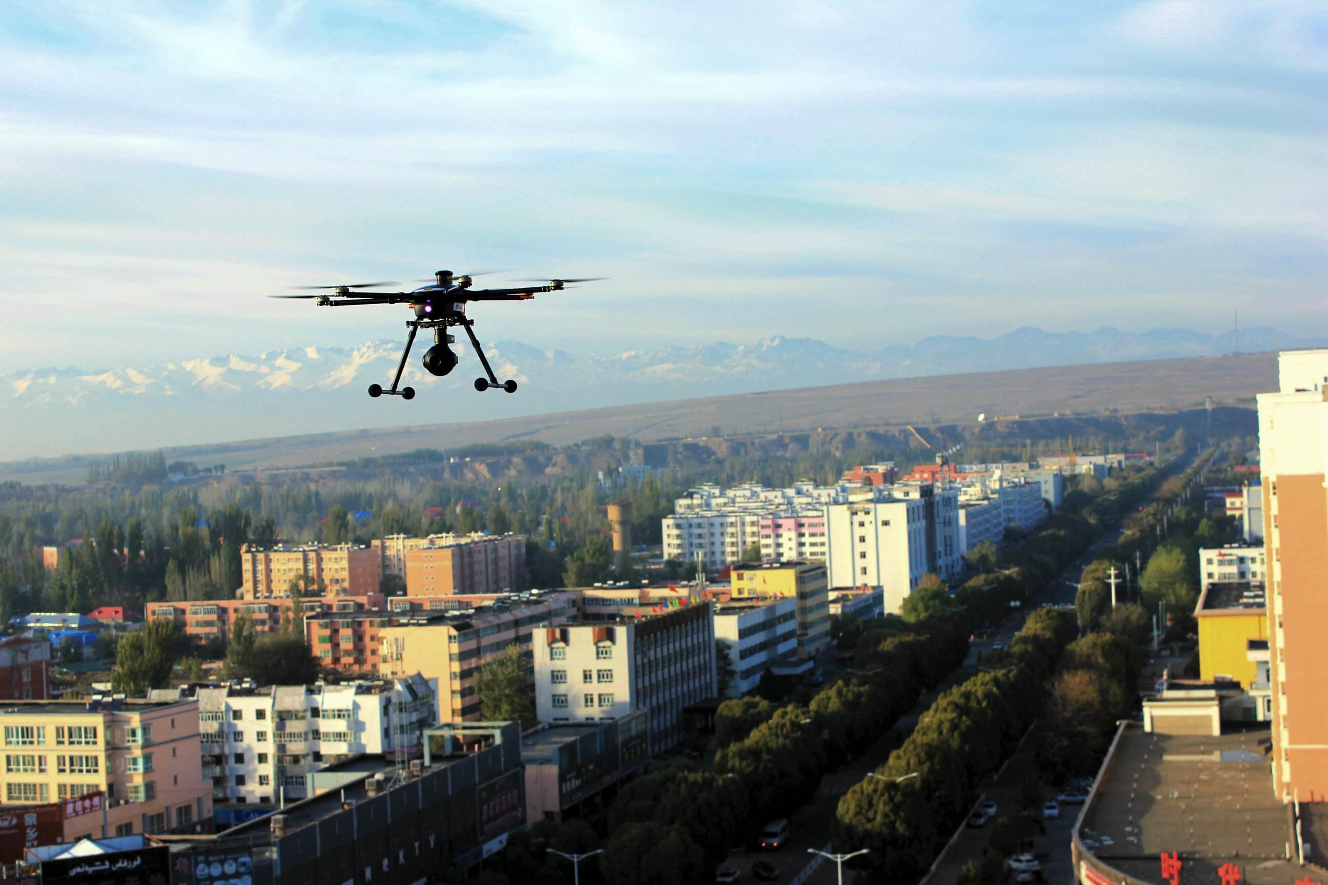 新型无人机为甘肃自然灾害预警监测提供科学依据