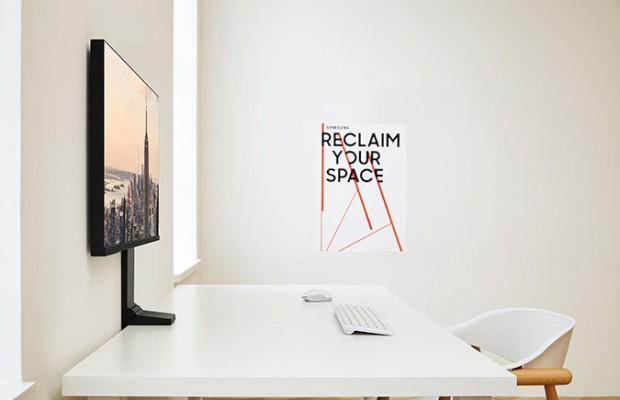 """三星CES将推出""""漂浮显示器"""" 还原书桌应有的空间"""