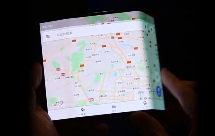 疑似小米折叠手机视频曝光:三段式折叠屏