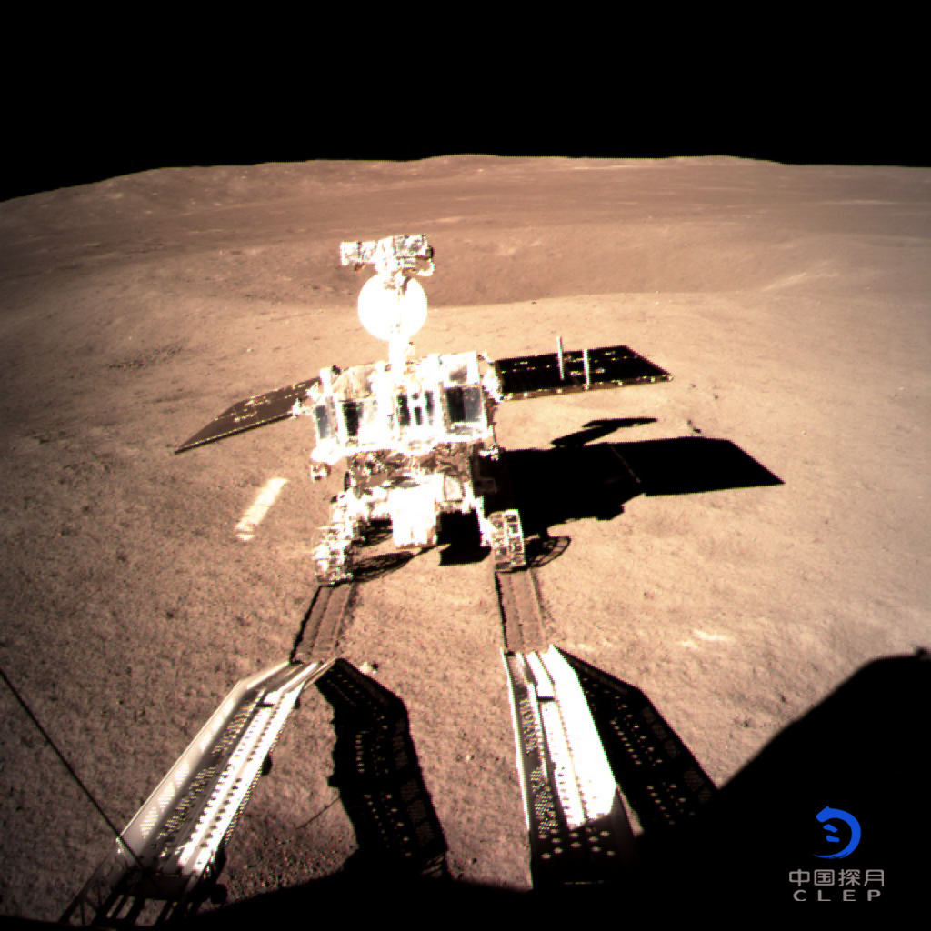 嫦娥四号着陆器与巡视器分离 月背留下首道印迹