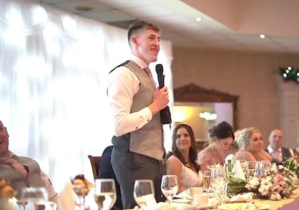 来自世界的祝福!爱尔兰伴郎为哥哥婚礼制造惊喜
