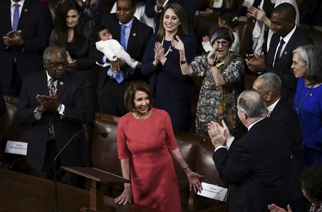 南希·佩洛西当选新任美国国会众议长
